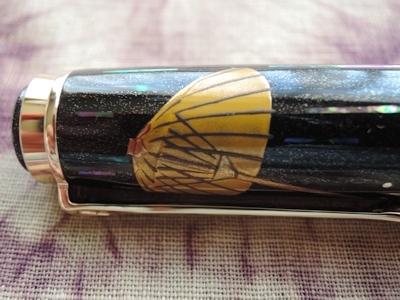 限定蒔絵万年筆「 和 傘(わがさ)」、撮りました。_e0200879_10115910.jpg