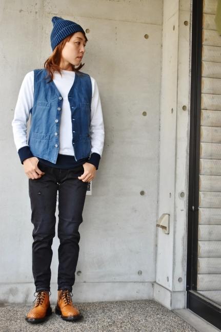 Le minor  某メーカー・別注  Soutien Collar COAT JACKET_d0152280_11001600.jpg