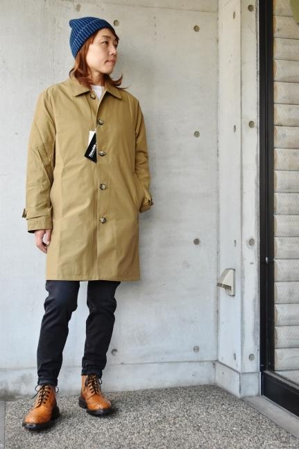 Le minor  某メーカー・別注  Soutien Collar COAT JACKET_d0152280_11003538.jpg