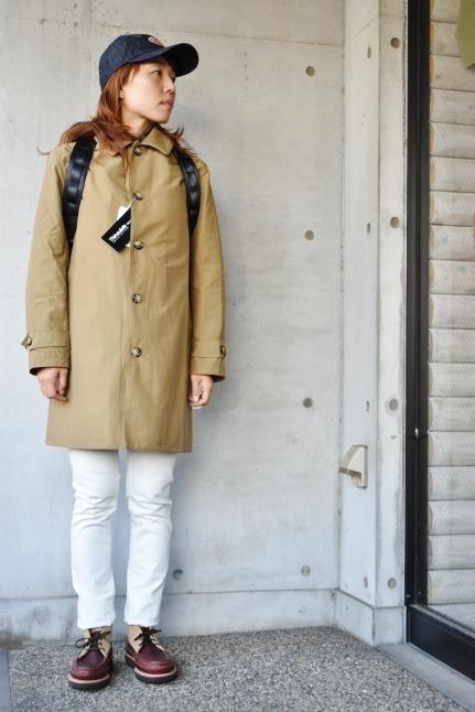 Le minor  某メーカー・別注  Soutien Collar COAT JACKET_d0152280_13441449.jpg