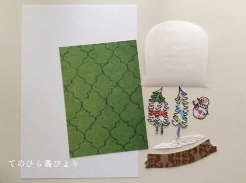 Let's create a weekly card & show off! #39 クリスマスカード2019#2_d0285885_17541333.jpeg