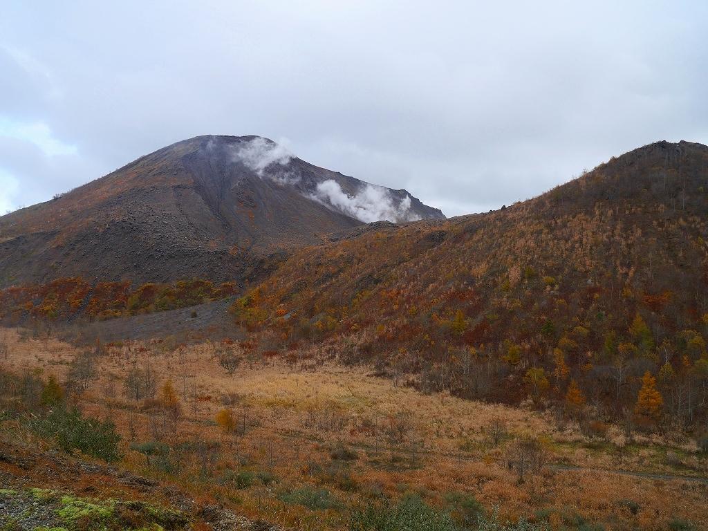 雨の有珠山、2019.10.31_f0138096_20525167.jpg