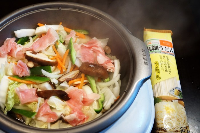■菜園ランチ【細麺タイプの焼うどん】具材タップリ~♪_b0033423_00514260.jpg