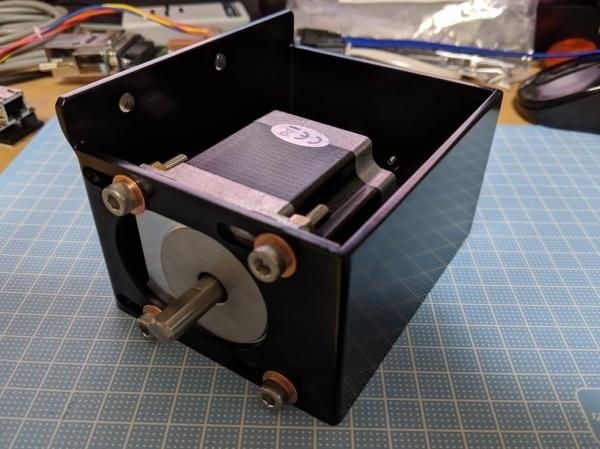 アルティバNJP赤道儀用自動導入 赤緯モーター変更_c0061727_23023760.jpg