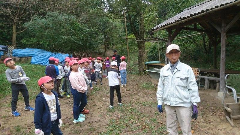 教師の森にようこそ後輩(淡輪小学校)_c0239329_05371441.jpg