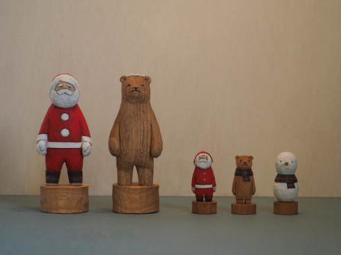 江籠正樹さんのクリスマスオブジェ2019_a0265743_22020846.jpg
