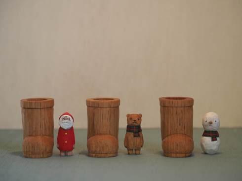 江籠正樹さんのクリスマスオブジェ2019_a0265743_22025199.jpg