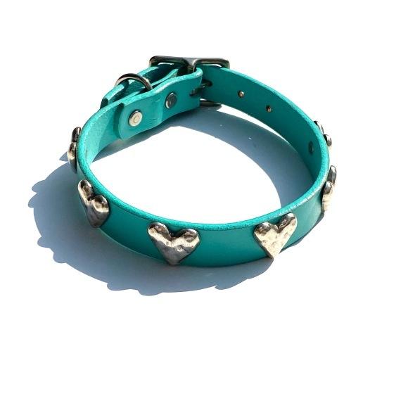 Dog La Heart COLLAR ドグラ ハート カラー 3/4インチ(2cm幅) 14インチ_d0217958_12013973.jpg