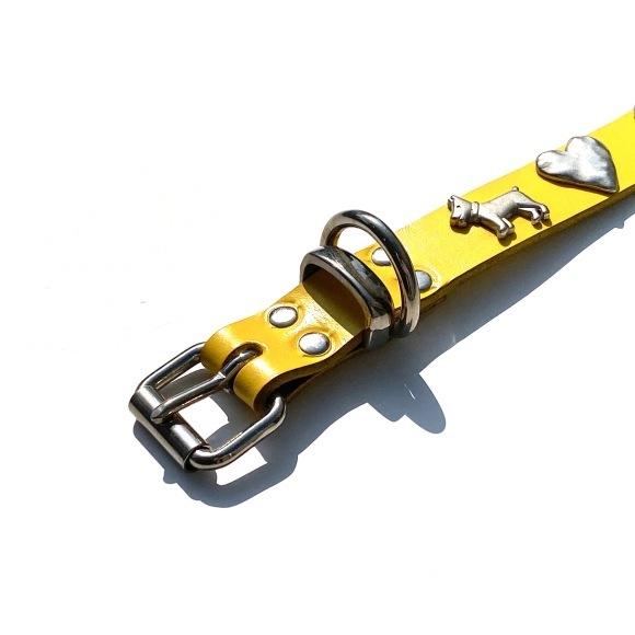 Dog La Heart COLLAR ドグラ ハート カラー 1インチ(2.5cm幅) 14インチ_d0217958_12200289.jpg