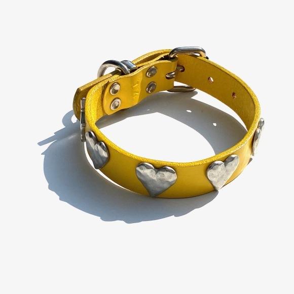 Dog La Heart COLLAR ドグラ ハート カラー 1インチ(2.5cm幅) 14インチ_d0217958_12200394.jpg