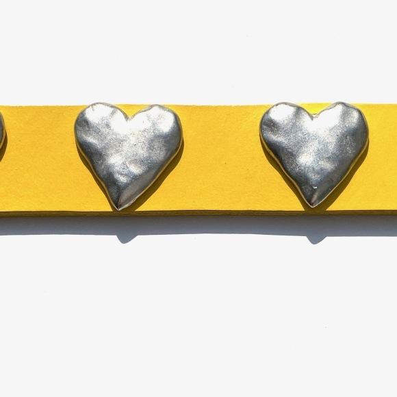 Dog La Heart COLLAR ドグラ ハート カラー 1インチ(2.5cm幅) 14インチ_d0217958_12200431.jpg