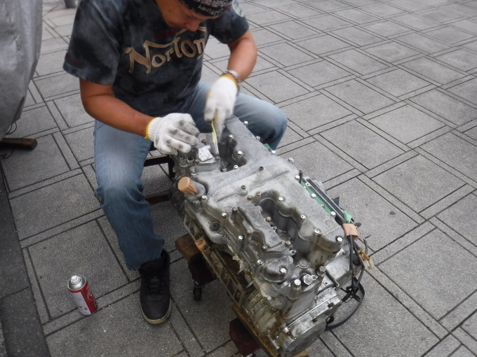 KAWASAKI KZ1300・・・エンジンでござります♪その3_a0163159_23345259.jpg