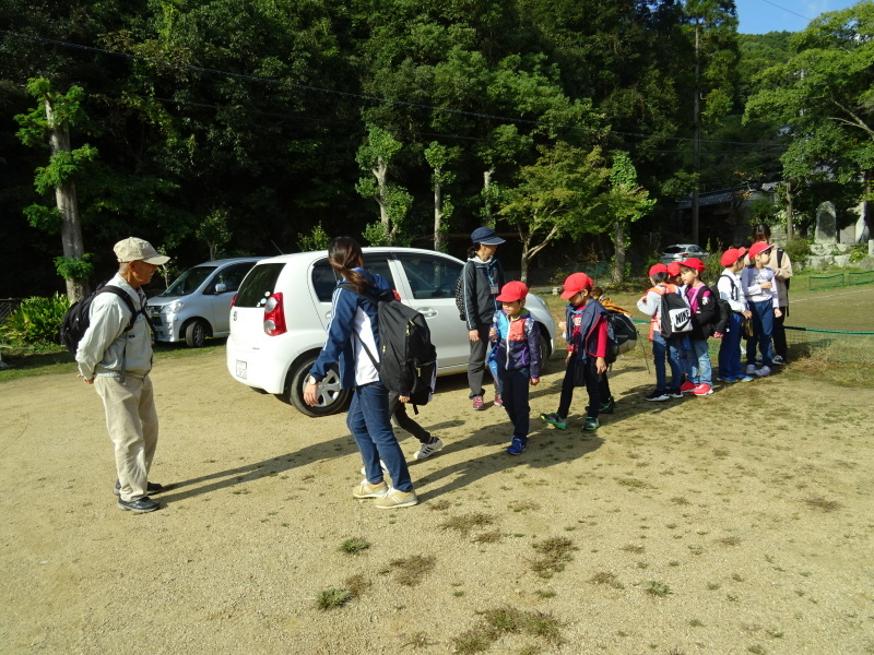 深日小学校2年生遠足「孝子の森探検」サポート _c0108460_16525246.jpg