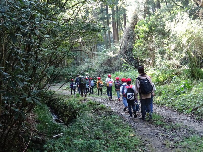 深日小学校2年生遠足「孝子の森探検」サポート _c0108460_16535726.jpg