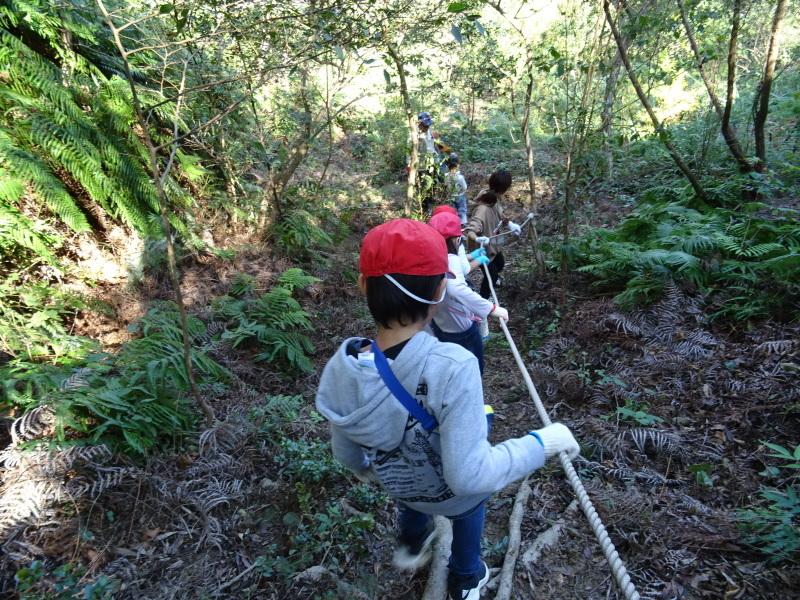 深日小学校2年生遠足「孝子の森探検」サポート _c0108460_16593874.jpg