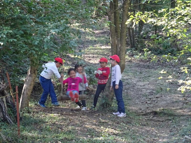 深日小学校2年生遠足「孝子の森探検」サポート _c0108460_17034500.jpg