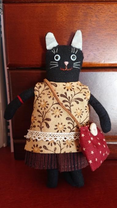 黒ネコのまめネコちゃん完成しました♪_f0374160_20552492.jpg