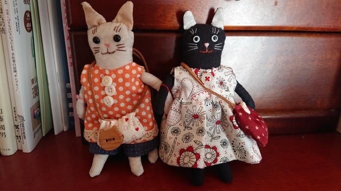 黒ネコのまめネコちゃん完成しました♪_f0374160_20562147.jpg