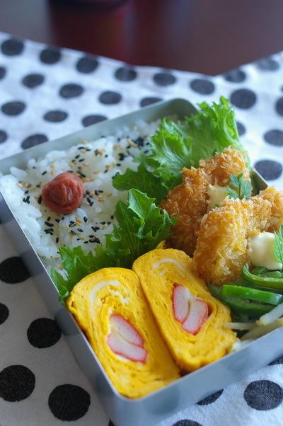 今日の鱈フライ弁当と『浪漫と算盤』_d0327373_08044136.jpg
