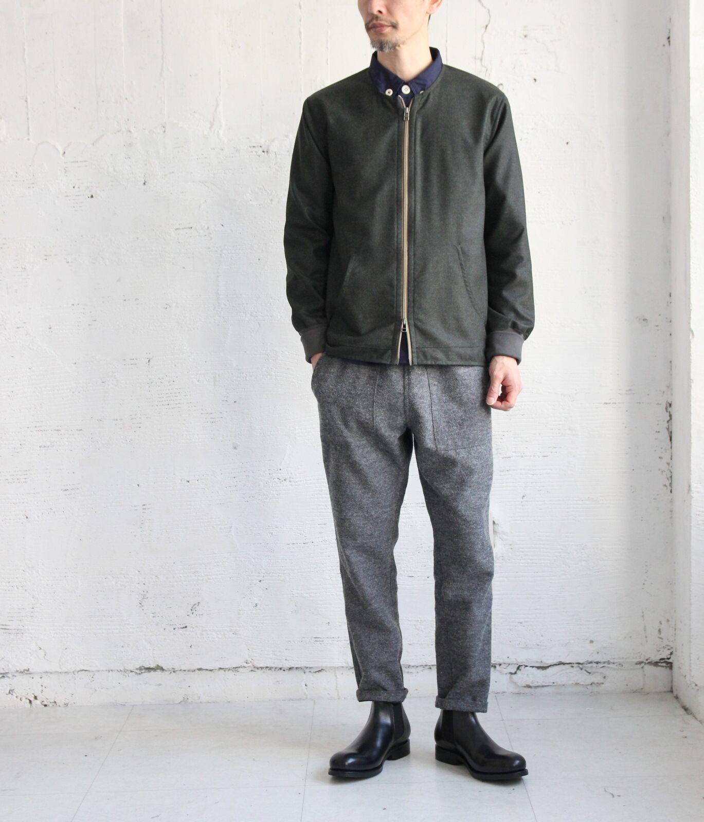 Wool Flannel Crew Blouson_c0379477_22504438.jpeg