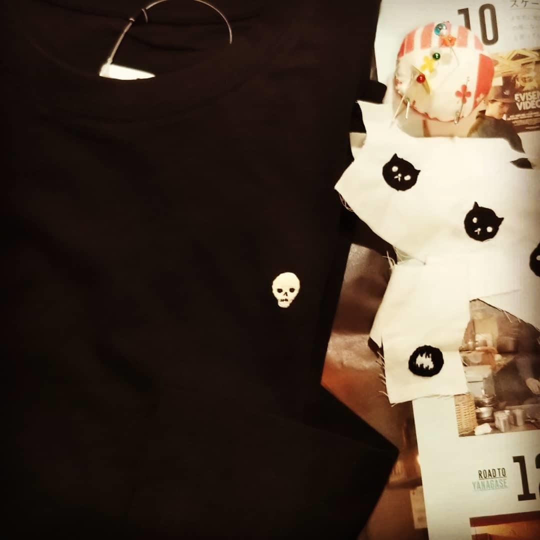 刺繍のTシャツ_d0209579_14054644.jpg