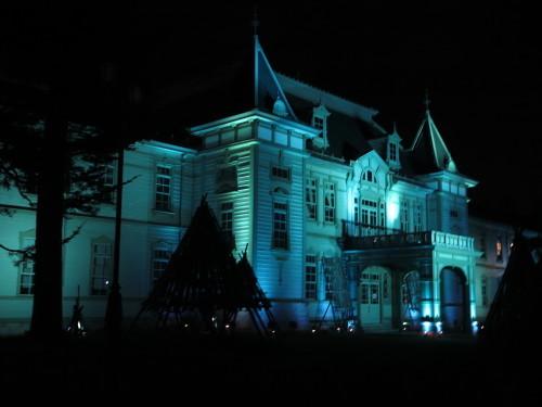 11月1日からライトアップはブルー_c0075701_00092732.jpg