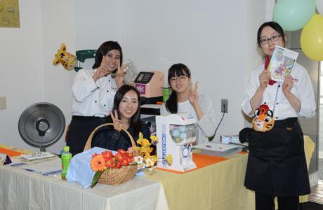 名古屋栄養専門学校の学園祭開催してます。_b0110019_14452313.jpg