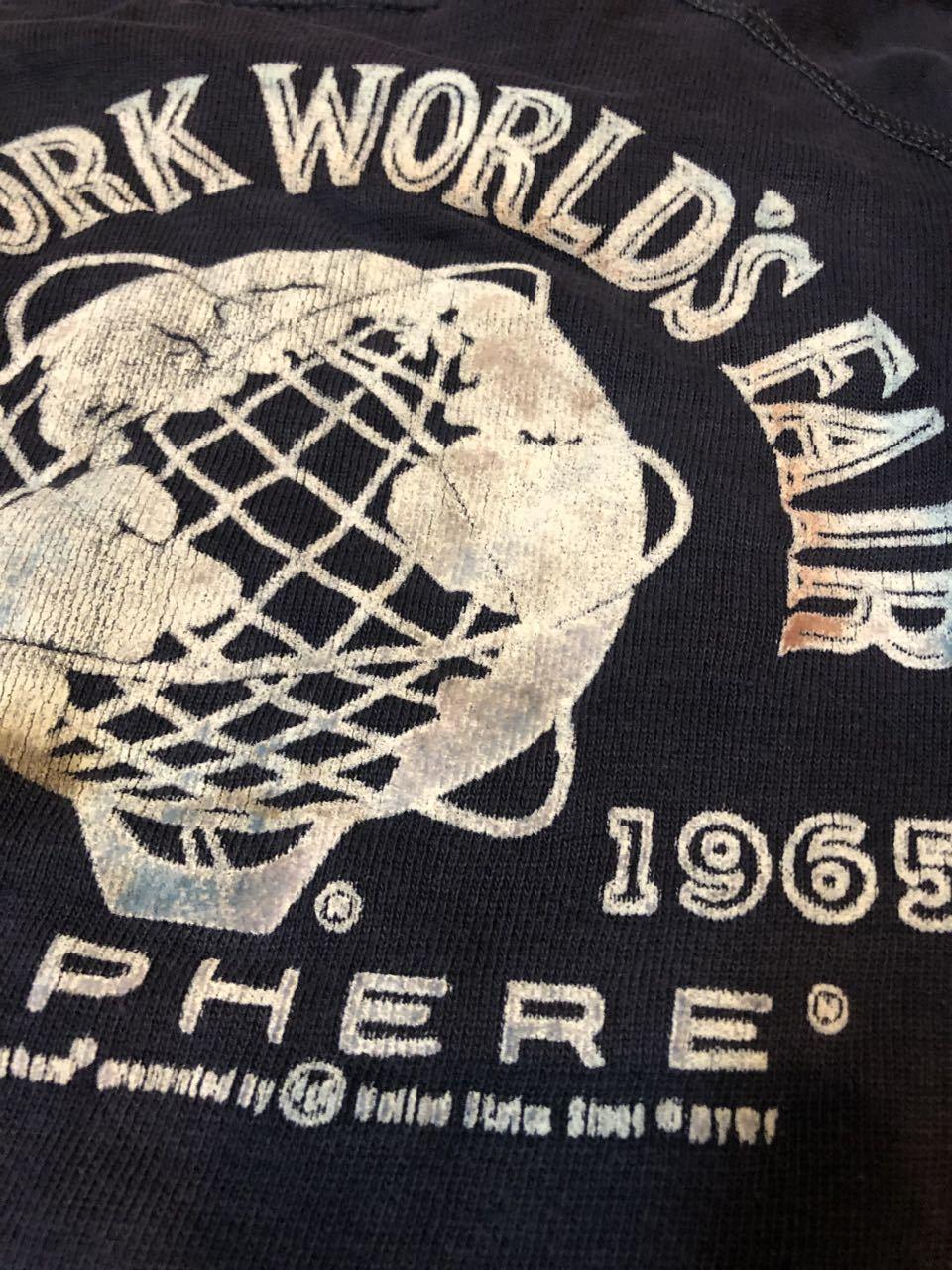 11月3日(日)入荷!1964年 NEW YORK WORLD\'S FAIR カラーフロッキー 記念スエット! _c0144020_14252718.jpg