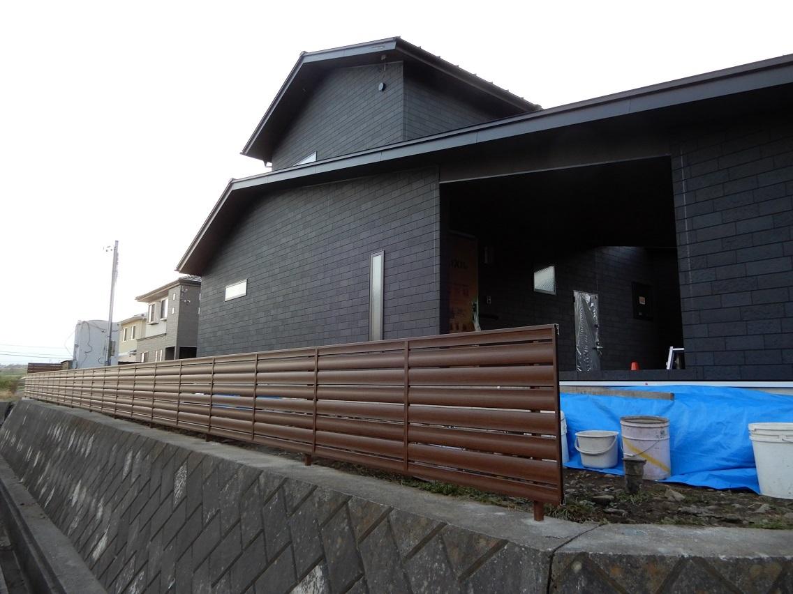 伊那市の設計事務所の家づくり  開放的なリビングがある家「工事監理 外構工事」_b0146238_22591812.jpg