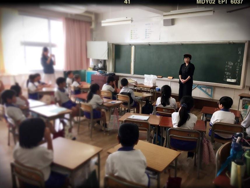 太山寺小学校のさつまいもケーキ♪_c0266240_16535674.jpg