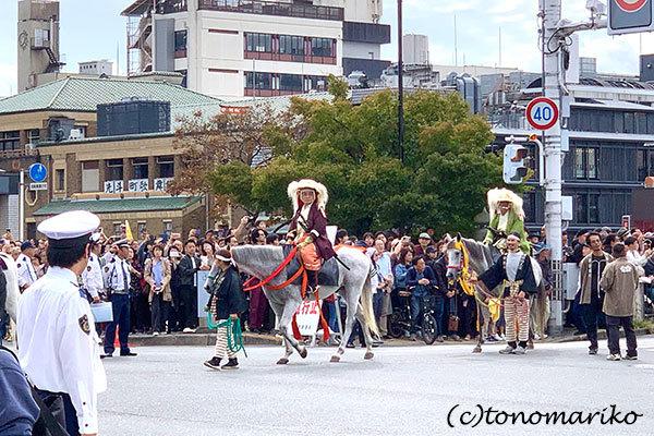 京都の1日観光、「時代祭」の日_c0024345_11450959.jpg
