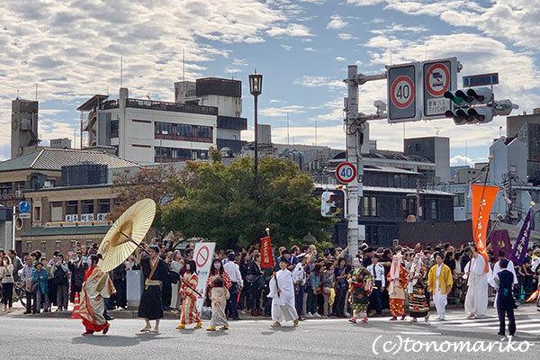 京都の1日観光、「時代祭」の日_c0024345_11451058.jpg