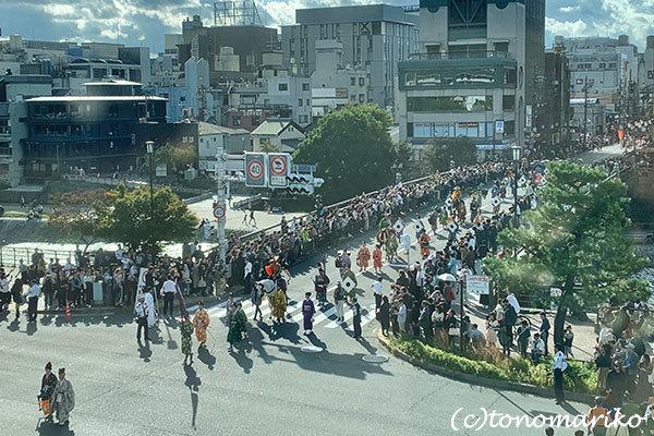 京都の1日観光、「時代祭」の日_c0024345_11451088.jpg