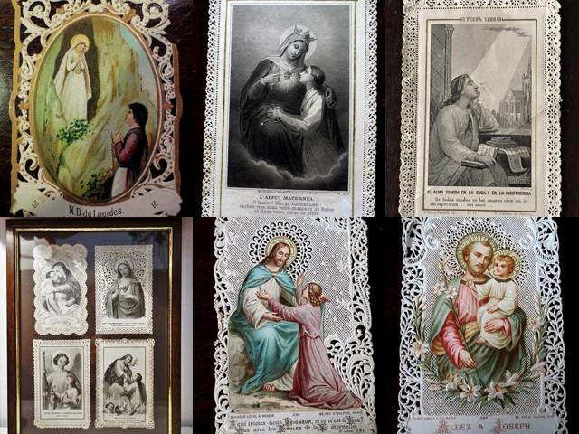 ホーリーカード(聖人のカード、エスタンパ)_f0112550_22562666.jpg