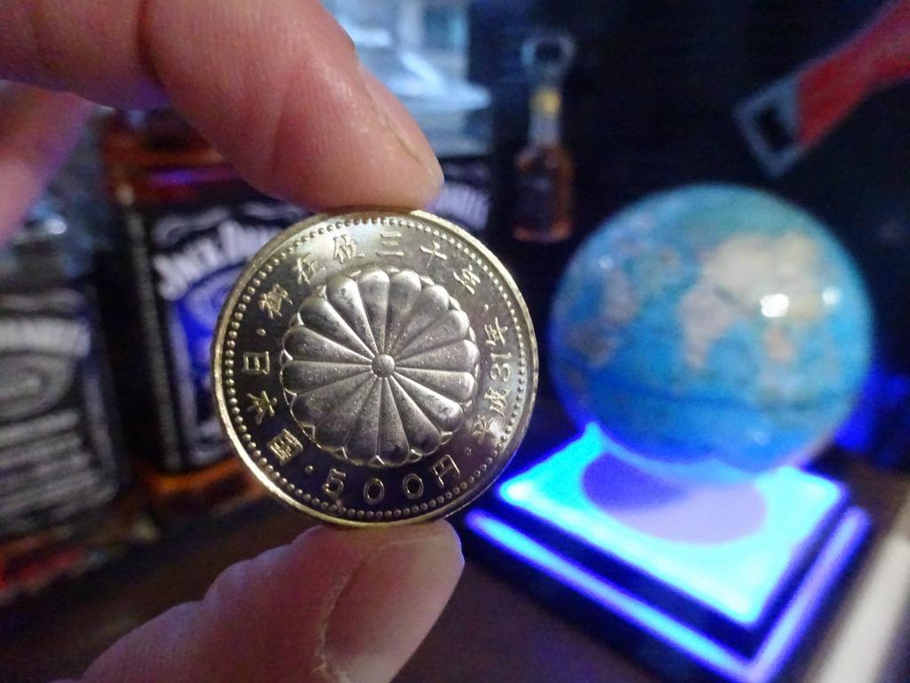 令和元年 五百円硬貨『御即位記念』_d0061678_17432515.jpg