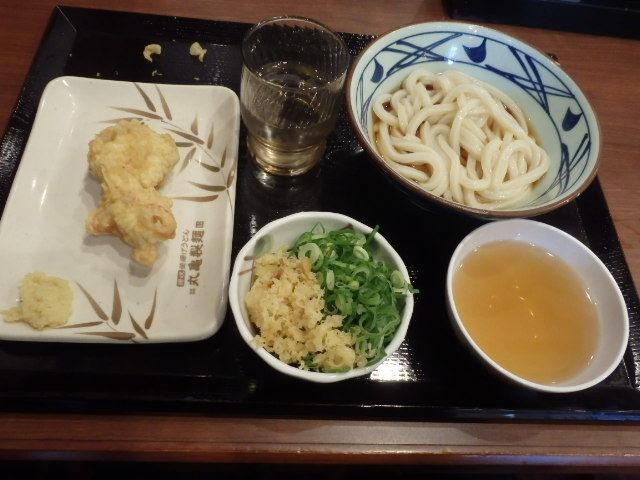 丸亀製麺        西宮前浜店_c0118393_10562284.jpg