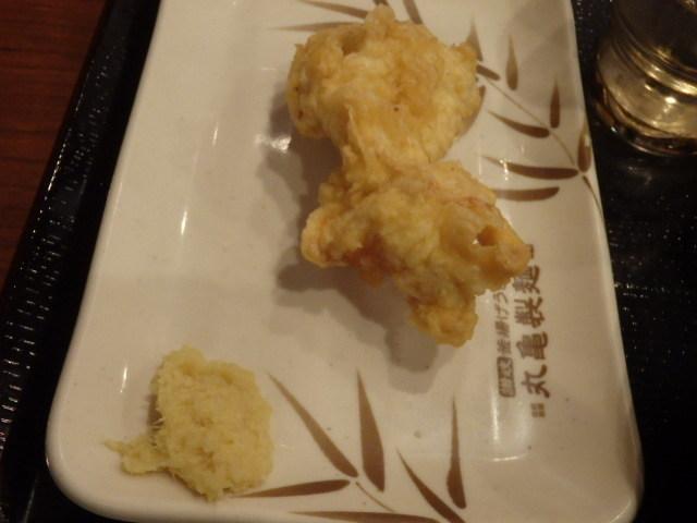 丸亀製麺        西宮前浜店_c0118393_11023020.jpg