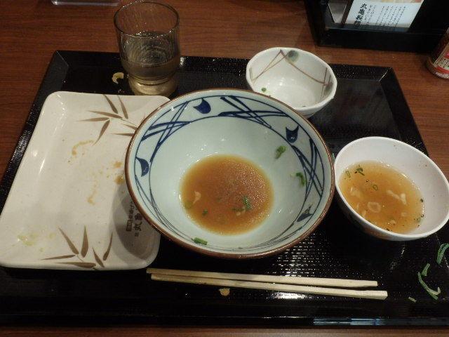 丸亀製麺        西宮前浜店_c0118393_16211827.jpg