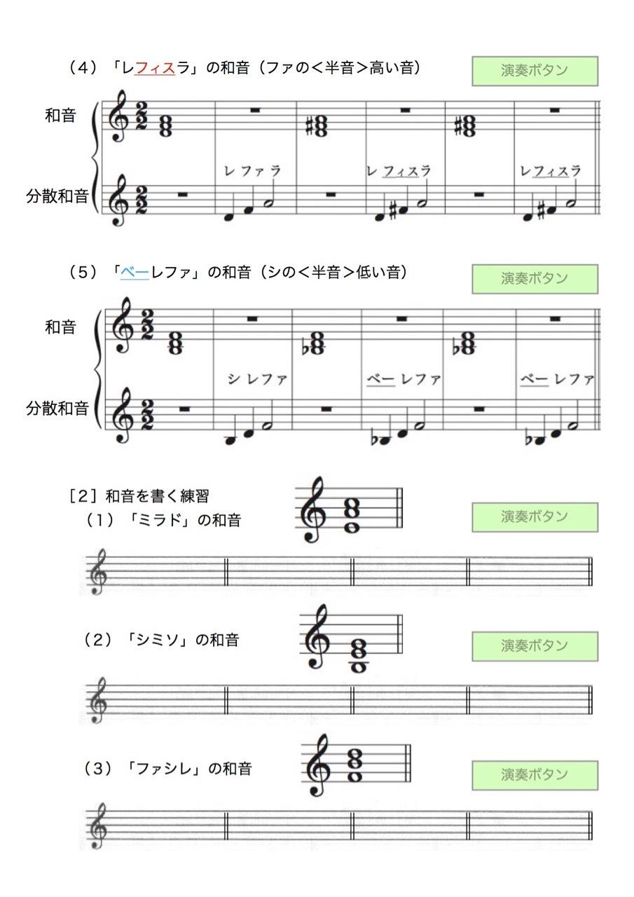 <お母さんと幼児の為の楽典>-40 「和音聴音への導入」-6_d0016397_09104168.jpg