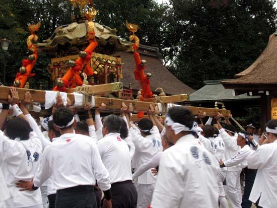 久我神社秋祭り 神輿渡御_e0048413_21475502.jpg