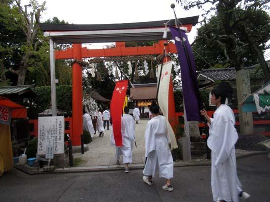 久我神社秋祭り 神輿渡御_e0048413_21481441.jpg