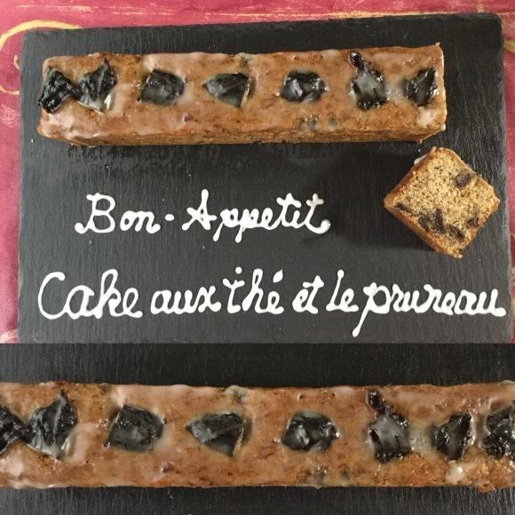 11月 デビューレッスンのご案内Cake aux thé et le pruneau_e0071324_16093783.jpeg