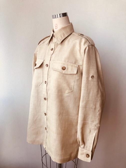 着物着物リメイク・ 着物からメンズシャツジャケット_d0127925_10415628.jpg