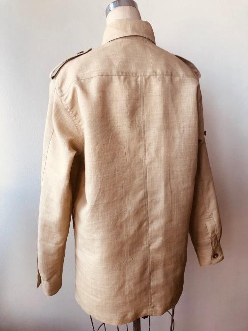 着物着物リメイク・ 着物からメンズシャツジャケット_d0127925_10420133.jpg