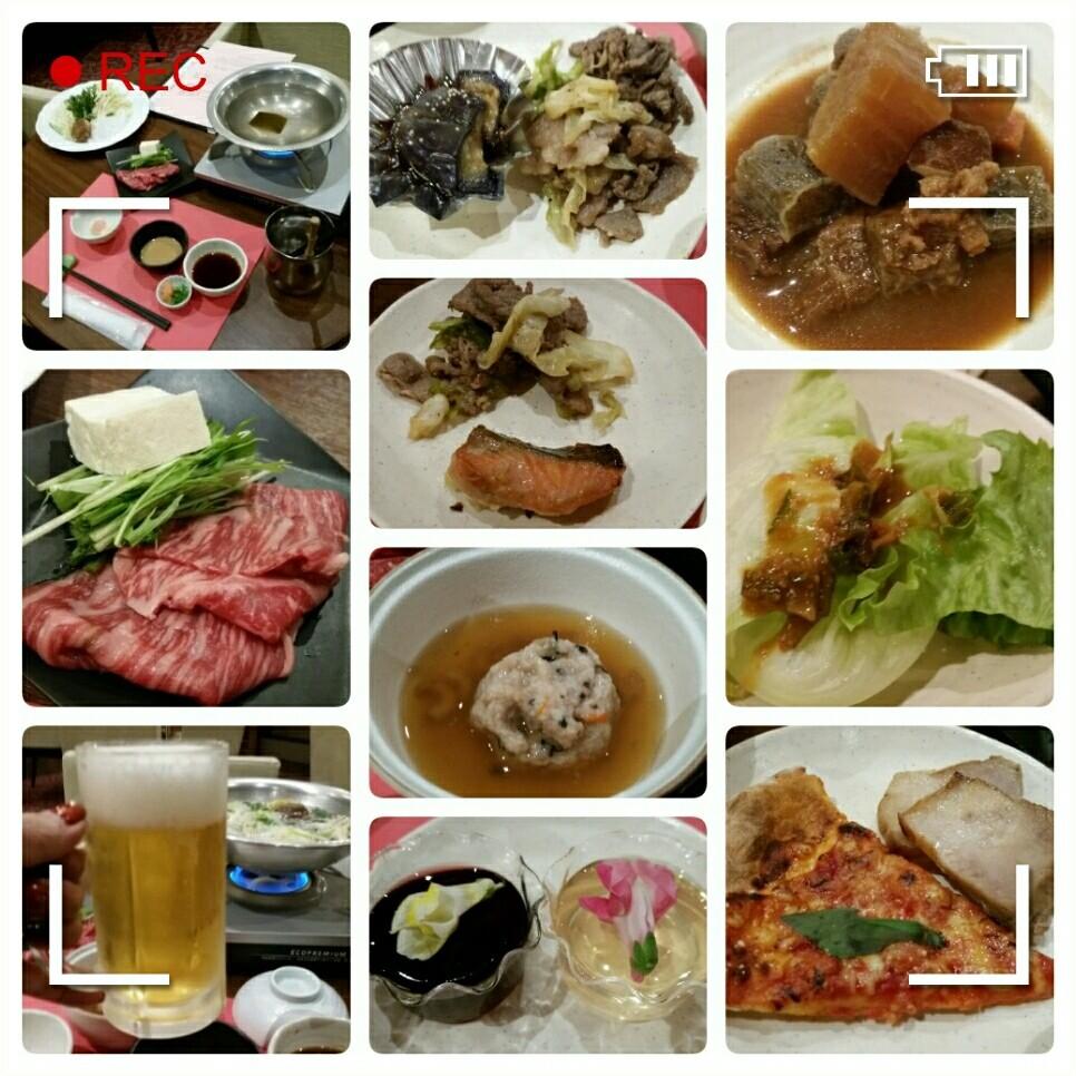 【生中継】晩ごはん食べています♪(≧▽≦)_d0219834_19110445.jpg