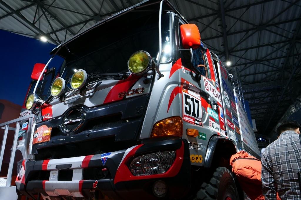 Hino Dakar 仕様_f0050534_19083842.jpg