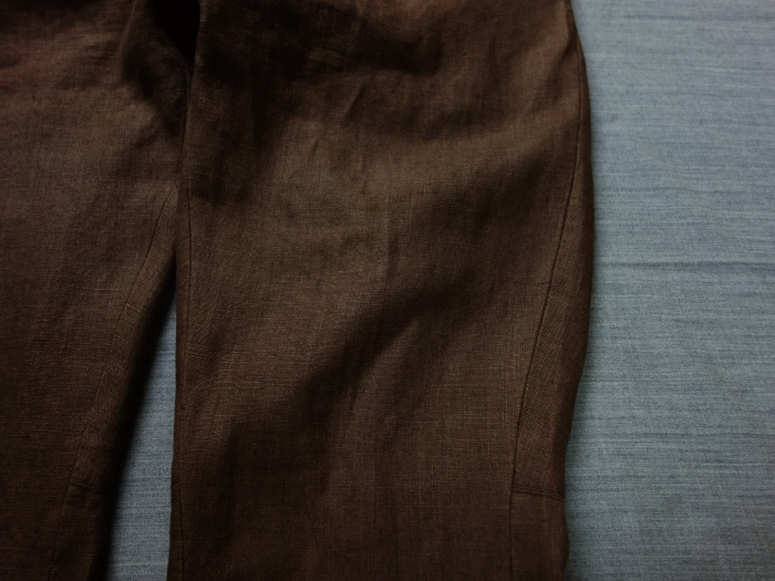 1月の製作 / classic linen jodhpurs_e0130546_13263369.jpg