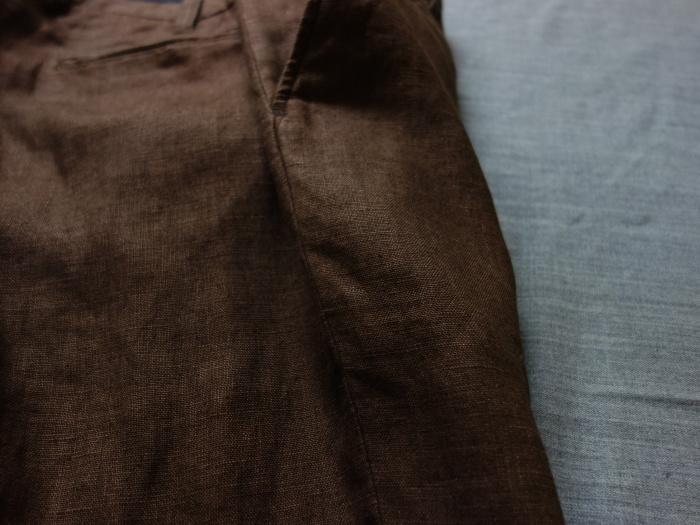 1月の製作 / classic linen jodhpurs_e0130546_13270699.jpg