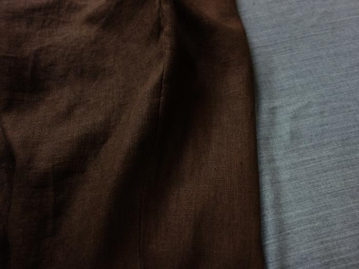 1月の製作 / classic linen jodhpurs_e0130546_13273689.jpg