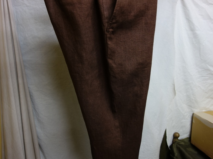 1月の製作 / classic linen jodhpurs_e0130546_14275441.jpg